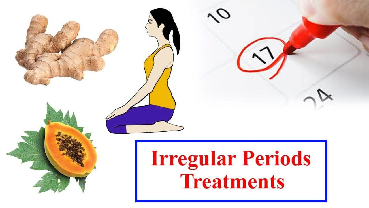 Know the yoga and diet for irregular periods